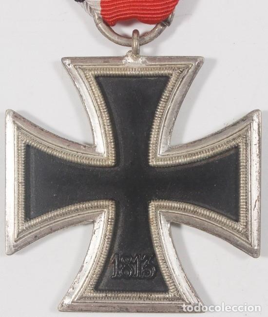 Militaria: Insignia Cruz de Hierro de 2 clase, original alemán Segunda Guerra Mundial - Foto 3 - 182643655