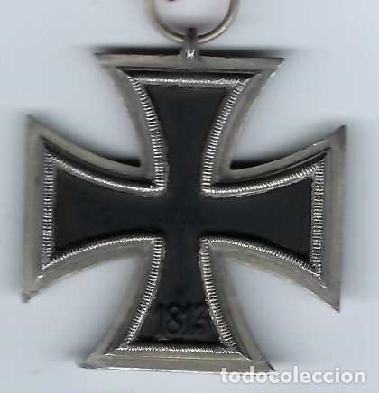 Militaria: CRUZ DE HIERRO DE SEGUNDA CLASE CON CINTA. RÉPLICA EXCELENTE - Foto 4 - 182644436