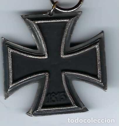 Militaria: CRUZ DE HIERRO DE SEGUNDA CLASE CON CINTA. RÉPLICA EXCELENTE - Foto 4 - 182644660