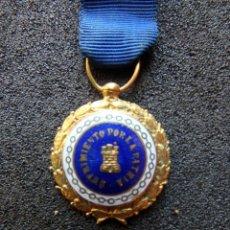 Militaria: (JX-191130)MEDALLA SUFRIMIENTOS POR LA PATRIA,CINTA AZUL,PRISIONERO EN ZONA REPUBLICANA,MINIATURA.. Lote 182680516