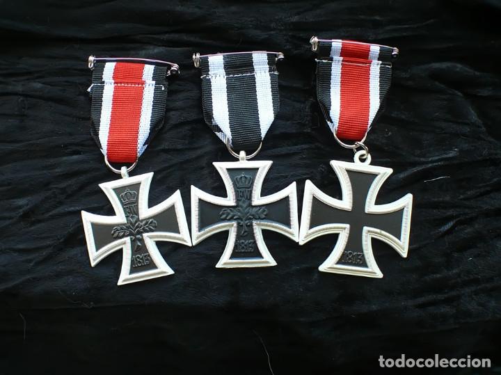 Militaria: LOT 3 cruces DE HIERRO. Eisernen Kreuz 2 Klasse. 1870.1914.1939 - Foto 3 - 197756312