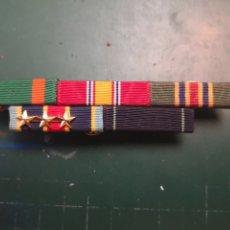 Militaria: USN. US NAVY Y USMC. PASADOR DE MEDALLAS. . Lote 182945711