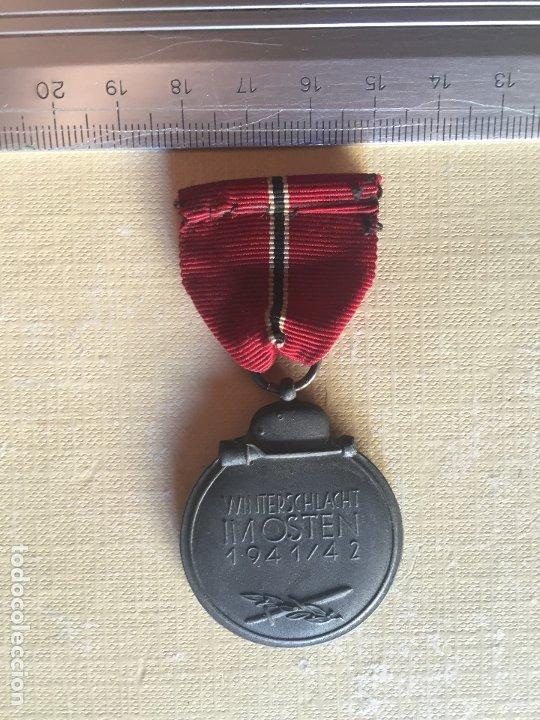Militaria: DIVISIÓN AZUL, MEDALLA PRIMER INVIERNO EN RUSIA - Foto 2 - 182958006