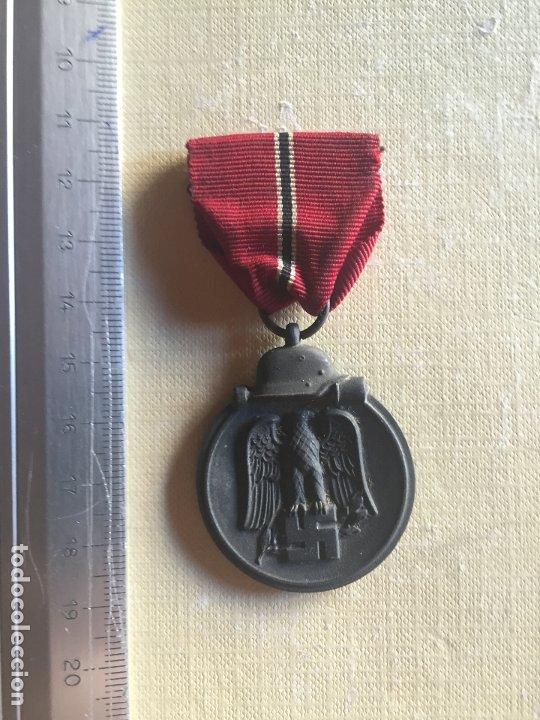 DIVISIÓN AZUL, MEDALLA PRIMER INVIERNO EN RUSIA (Militar - Medallas Españolas Originales )