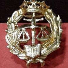 Militaria: INSIGNIA DE JUSTICIA DE ORO.. Lote 183317011
