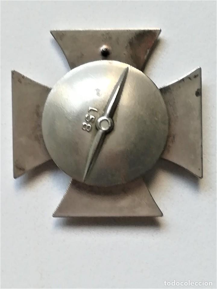 Militaria: III REICH,CRUZ DE HIERRO 1ª CLASE L/58 ORIGINAL CON CAJA LDO,ROSCA,EPOCA DIVISION AZUL - Foto 5 - 81649071