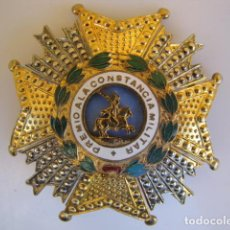 Militaria: MEDALLA PLACA PREMIO A LA CONSTANCIA MILITAR. SAN HERMENEGILDO. . Lote 183507553