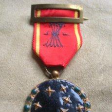 Militaria: MEDALLA DE LA VIEJA GUARDIA DE FALANGE. NÚMERO DE EXPEDIENTE 1/86. MUY DESTACADO FALANGISTA.. Lote 183547630