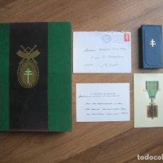 Militaria: EXCEPCIONAL CONJUNTO DE LA ORDEN DE LA LIBERACIÓN FRANCESA. II GUERRA MUNDIAL. DE GAULLE. . Lote 183553718