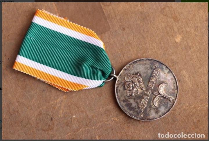 """MEDALLA ALEMANIA II GUERRA MUNDIAL. MEDALLA INDIA """"AZAD HIND"""". (Militar - Medallas Extranjeras Originales)"""