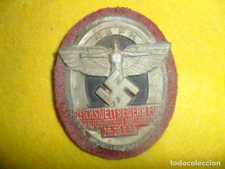 INSIGNIA ALEMANA DE LA .N..S--F--K (Militar - Medallas Internacionales Originales)