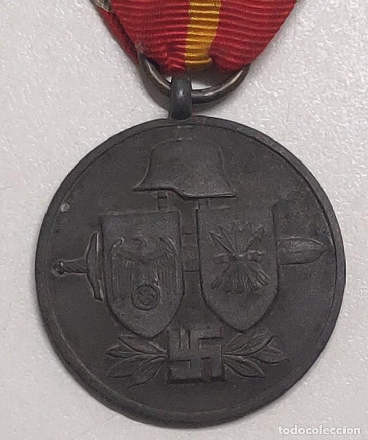 Militaria: MEDALLA DIVISION ESPAÑOLA DE VOLUNTARIOS EN RUSIA MARCAJE 1 - Foto 9 - 116357031