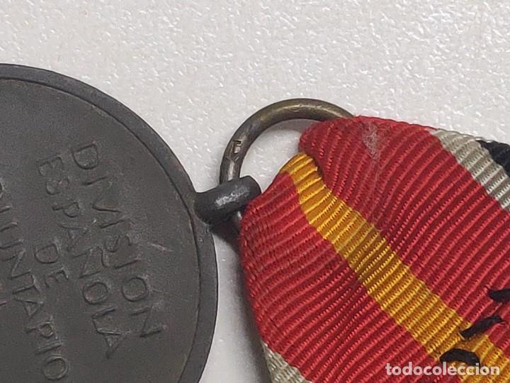 Militaria: MEDALLA DIVISION ESPAÑOLA DE VOLUNTARIOS EN RUSIA MARCAJE 1 - Foto 13 - 116357031