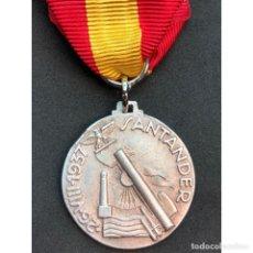 Militaria: MEDALLA POR LA BATALLA DE SANTANDER 1937 ITALIA EPOCA FRANQUISTA GUERRA CIVIL ESPAÑOLA. Lote 211631151