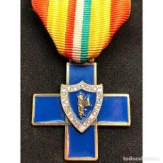 Militaria: MEDALLA CRUZ DIVISION VOLUNTARIOS LITTORIO ITALIA EPOCA FRANQUISTA GUERRA CIVIL ESPAÑOLA. Lote 221435888