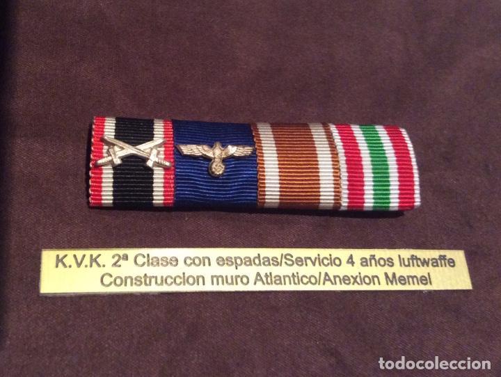 PASADOR DIARIO ALEMANIA. II GUERRA MUNDIAL. III REICH. (Militar - Cintas de Medallas y Pasadores)