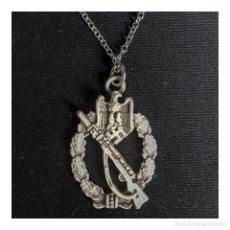 Militaria: COLGANTE DISTINTIVO ASALTO INFANTERIA ALEMANIA TERCER REICH PARTIDO NAZI WEHRMACHT. Lote 183860150