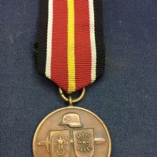Militaria: DIVISIÓN AZUL. DIVISIÓN ESPAÑOLA DE VOLUNTARIOS EN RUSIA. MUY BUEN ESTADO. Lote 183931005