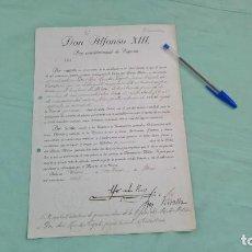Militaria: MERITO MILITAR DISTINTIVO ROJO..CONCESION 1920 ALFONSO XIII POR ACCION EN MELILLA Y TERRITORIO. Lote 183990606