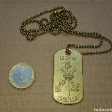 Militaria: MEDALLA PARTICIPANTE LA LEGIÓN ESPAÑOLA VII CARRERA AFRICANA MELILLA LEGIONARIO. Lote 184094358