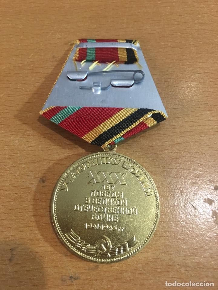 Militaria: Medalla Rusia - Foto 2 - 184188436