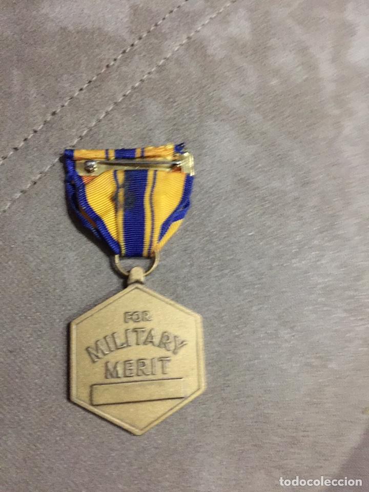 Militaria: MEDALLA MILITAR E.E.U.U. MÉRITO MILITAR. USA - Foto 2 - 184277943