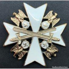 Militaria: ORDEN DEL AGUILA ALEMANA DE SEGUNDA CLASE CON ESPADAS. Lote 184371547
