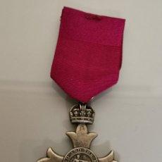 Militaria: MEDALLA MILITAR ORDEN IMPERIO BRITÁNICO REPLICA. Lote 184588355