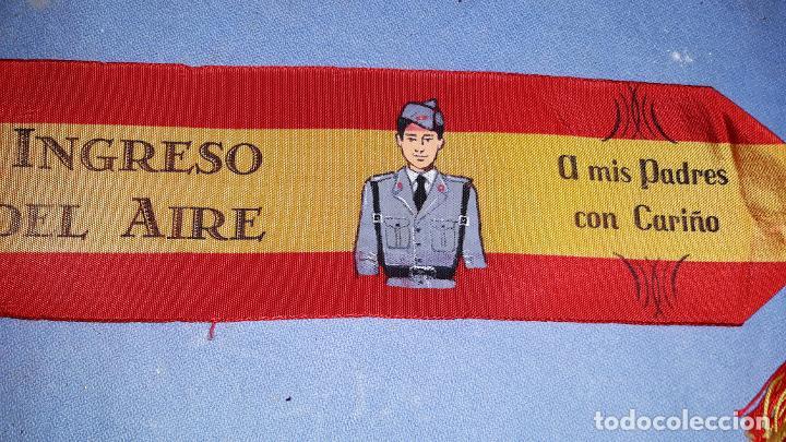 CINTA DE RECUERDO DE INGRESO EN EL EJERCITO DEL AIRE AÑOS 60 ORIGINAL (Militar - Cintas de Medallas y Pasadores)