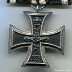 Militaria: ALEMANIA. CRUZ DE HIERRO DE 2ª CLASE. 1ª GUERRA MUNDIAL 1914. EN PASADOR.. Lote 184971266