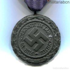 Militaria: ALEMANIA III REICH. MEDALLA DE LA LUFTSCHUTZ. ZINC. LUFTSCHUTZ-EHRENZEICHEN. Lote 185727343