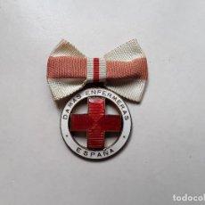Militaria: MEDALLA PARA DAMAS ENFERMERAS DE LA CRUZ ROJA, NUMERADA. ÉPOCA ALFONSO XIII. ENVÍO GRATUITO CERTIF.. Lote 185901737