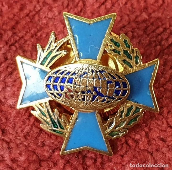 Militaria: PIN Y CONDECORACIÓN. CRUZ MALTESA LAUREADA. COMUNIDAD EUROPEA. SIGLO XX. - Foto 3 - 185954122