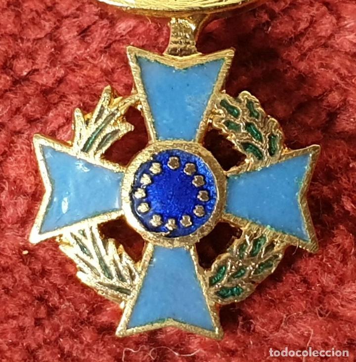Militaria: PIN Y CONDECORACIÓN. CRUZ MALTESA LAUREADA. COMUNIDAD EUROPEA. SIGLO XX. - Foto 5 - 185954122