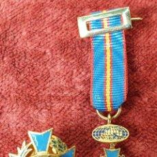 Militaria: PIN Y CONDECORACIÓN. CRUZ MALTESA LAUREADA. COMUNIDAD EUROPEA. SIGLO XX.. Lote 185954122