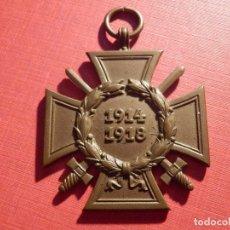 Militaria: CONDECORACIÓN ALEMANA PRIMERA GUERRA MUNDIAL - 1914-1918 - CRUZ DE HONOR COMBATIENTES. Lote 186229395