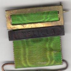 Militaria: MEDALLA PARA TROPA: GUERRA DE MARRUECOS. PASADOR MELILLA - ALFONSO XIII. Lote 186338258