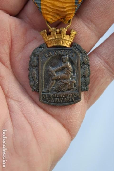 MEDALLA AL EJERCITO EN CAMPAÑA (Militar - Medallas Españolas Originales )