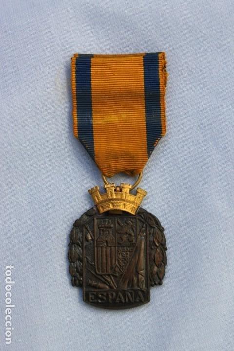 Militaria: MEDALLA AL EJERCITO EN CAMPAÑA - Foto 2 - 186439161