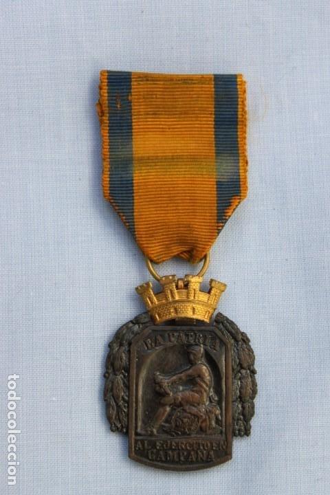 Militaria: MEDALLA AL EJERCITO EN CAMPAÑA - Foto 3 - 186439161
