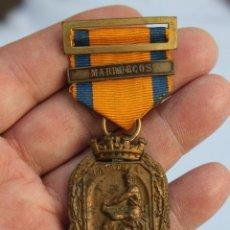 Militaria: MEDALLA AL EJERCITO EN CAMPAÑA PASADOR MARRUECOS. Lote 186439356