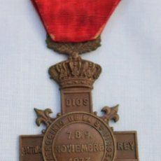 Militaria: MEDALLA CARLISTA MONTEJURRA 1873. Lote 186440862