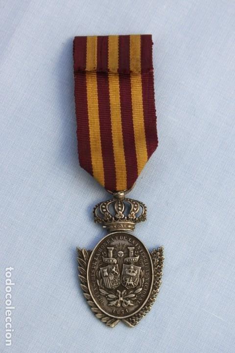 Militaria: MEDALLA AMADEO A LOS VOLUNTARIOS DE CUBA 1871 - Foto 4 - 186441255