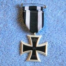 Militaria: CRUZ DE HIERRO SEGUNDA CLASE - ALEMANIA - MEDALLA MILITAR - I GUERRA MUNDIAL, 1914.. Lote 187497695
