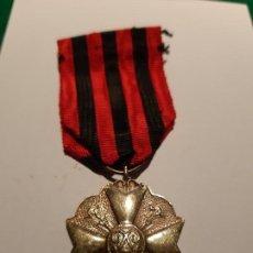 Militaria: BÉLGICA. MEDALLA CIVIL POR SERVICIOS DISTINGUIDOS. CATEGORÍA ORO. Lote 187630585