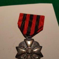 Militaria: BÉLGICA. MEDALLA CIVIL POR SERVICIOS DISTINGUIDOS. CATEGORÍA PLATA. Lote 187630697