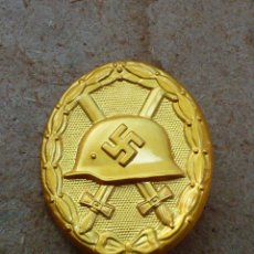 Militaria: INSIGNIA DE HERIDA (ORO)TERCER REICH. NAZI. Lote 188540511