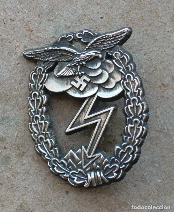PLACA LUFWAFFE COMBATE TIERRA. ALEMANIA. 2ª GUERRA MUNDIAL. 1939-1945 (Militar - Reproducciones y Réplicas de Medallas )