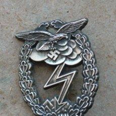 Militaria: PLACA LUFWAFFE COMBATE TIERRA. ALEMANIA. 2ª GUERRA MUNDIAL. 1939-1945. Lote 224926115