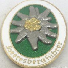 Militaria: RÉPLICA MEDALLA HEERESBERGFÜHRER. GUÍAS DE MONTAÑA. EDELWEISS. ALEMANIA. II GUERRA MUNDIAL. 1936-45. Lote 188574130
